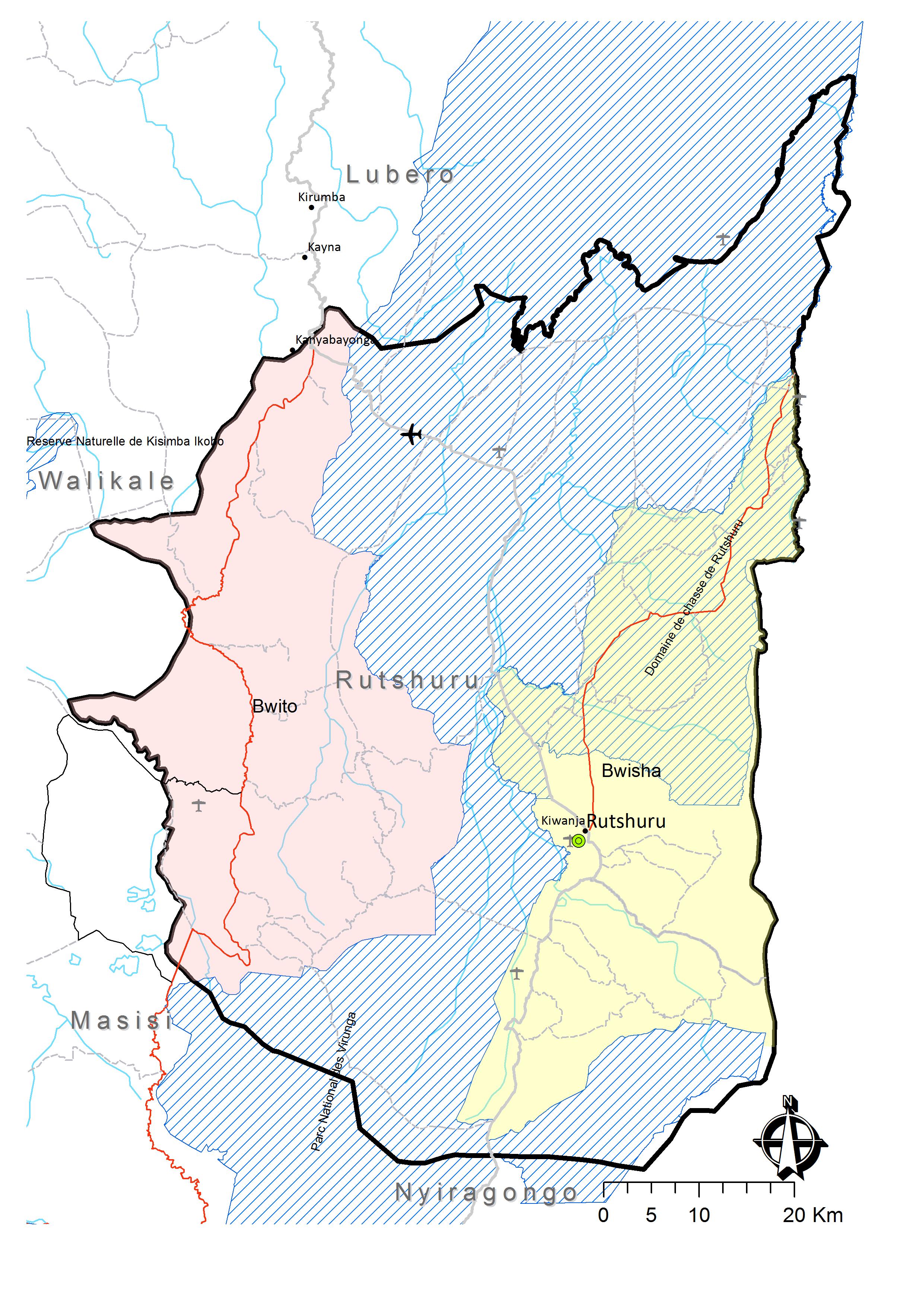 La Carte Hydrographique De La Rdc