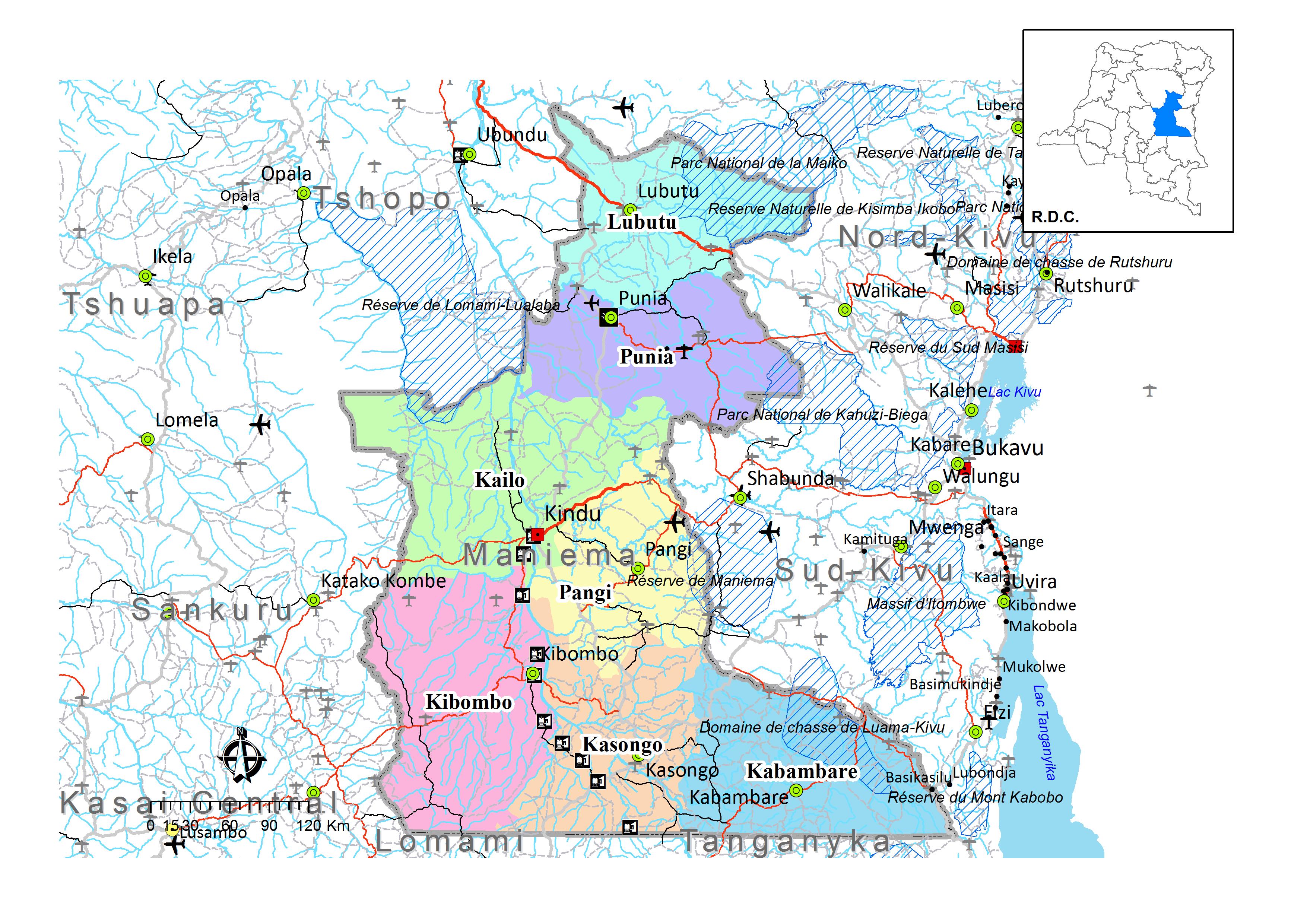 province du maniema  u2013 caid