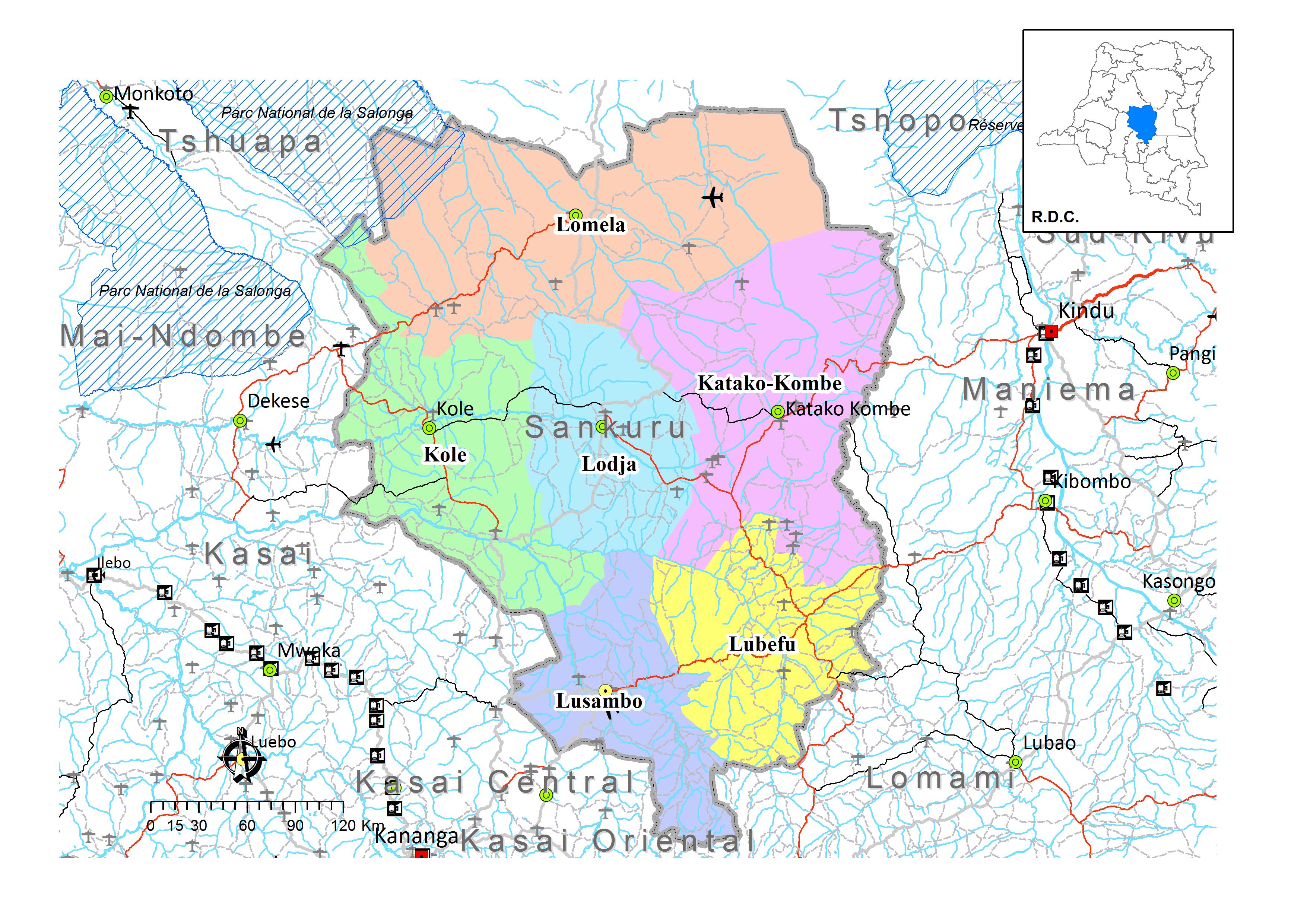 province de sankuru  u2013 caid
